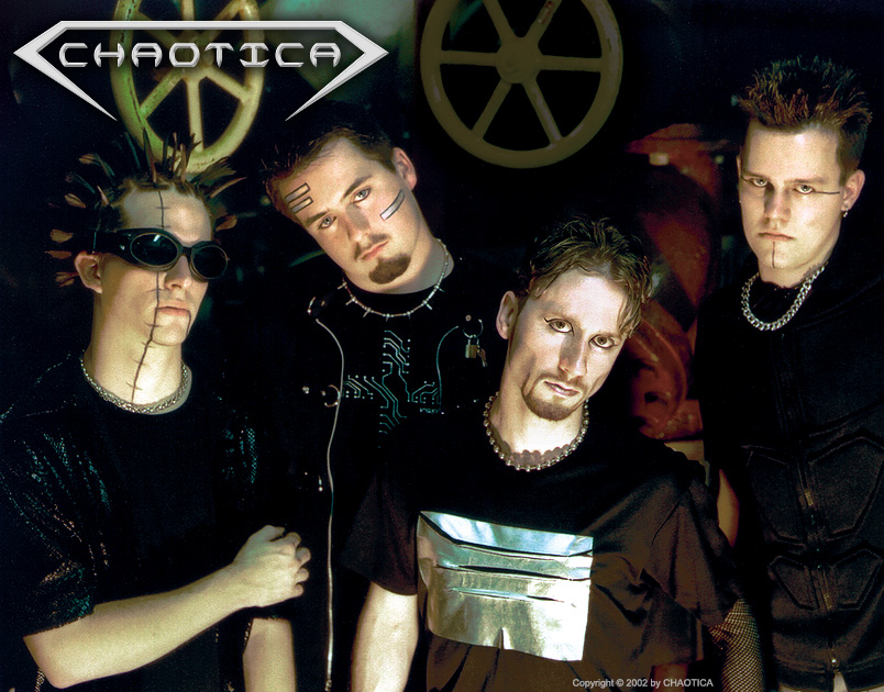 CHAOTICA (2002) (Left to Right: Gary Toth, Jeff-X, Danny Chaotic, Johnny Evil)